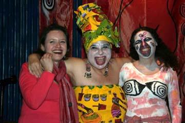 Tanya Torres, Maria Mar and Corazon Tierra. Click to engage Photo Album.